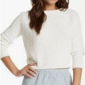 American Apparel Cropped Fisherman Sweater NWT
